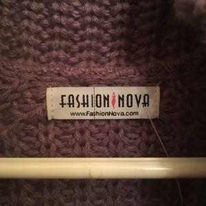 Fashion Nova Sweaters - Halina Sweater - Lavendar 79aeca24c